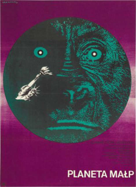 polish planet of the apes poster
