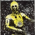 polish star wars a new hope poster - c-3po