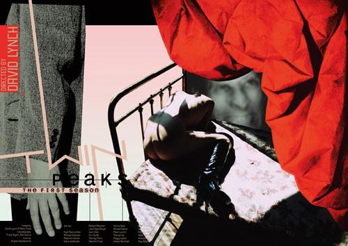 polish twin peaks poster - david lynch