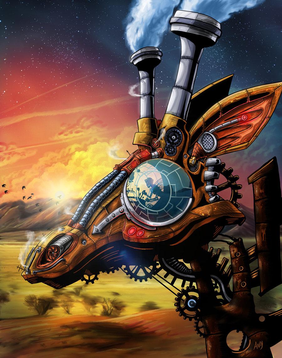 Steam Powered Giraffe By Wonderwig