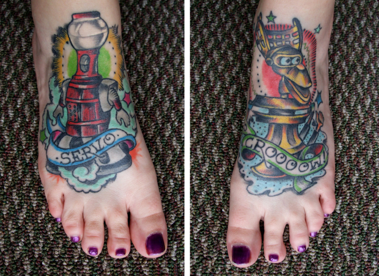 Mystery Science Theater 3000 Tattoos By Briza Buschemi At