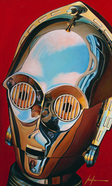 See-Threepio by Christian Waggoner - C-3PO - star wars art