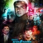 Blade Runner Poster by Vlad Rodriguez