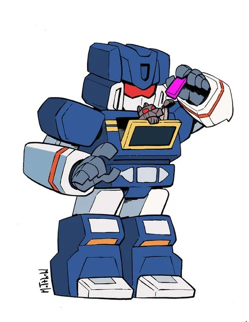 Soundwave by Matthew S. Armstrong - Transformers Art