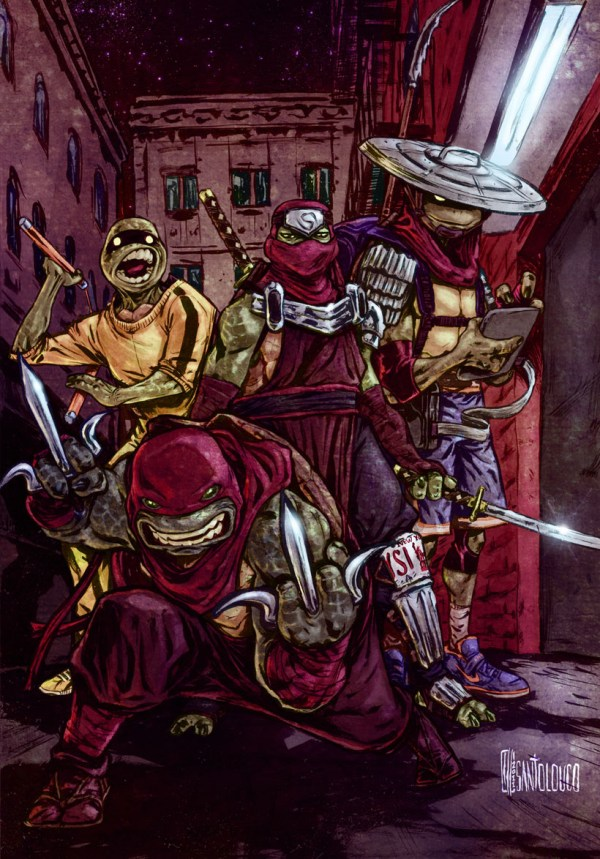 tmnt redesign by Mateus Santolouco - Teenage Mutant Ninja Turtles Comics