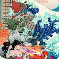 Justice League #15 Variant Cover by Billy Tucci, creator of Shi