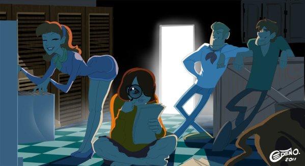 Scooby Doo by Allan Cedeño