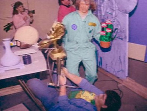 KTMA behind the scenes Joel Hodgson and J. Elvis Weinstein - Mystery Science Theater 3000