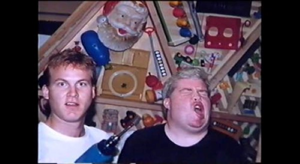 Mike Nelson and Frank Conniff - Mystery Science Theater 3000 Behind the Scenes