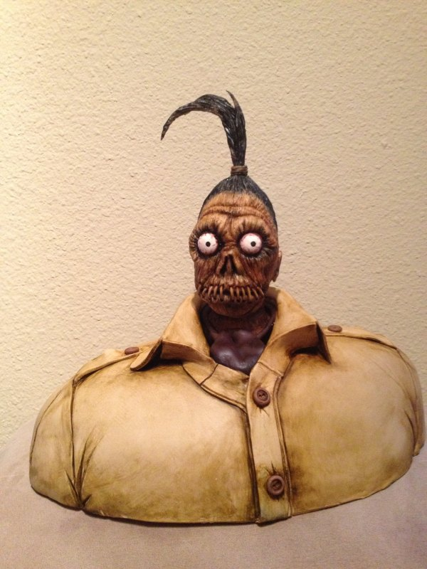 Harry the Headhunter - Beetlejuice Cake by Sideserf Cake Studio