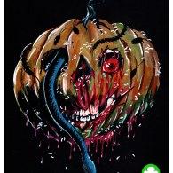 Halloween III Pumpkin Mask by Trevor Henderson - Season of the Witch, Silver Shamrock