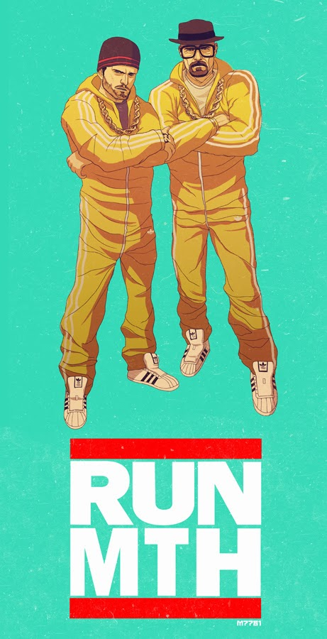 Run-M.T.H. - Breaking Bad x Run-D.M.C. by Marco D'Alfonso