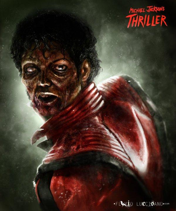 Michael Jackson's Thriller - Art by Flavio Luccisano