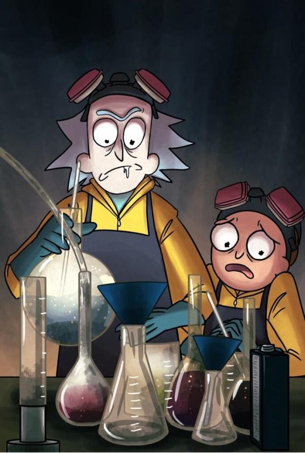 Rick and Morty x Breaking Bad Mashup