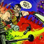 Abslon Daak - Dalek Killer - Doctor Who Art by Rob Schrab