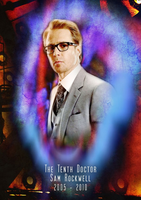American Doctor Who - Sam Rockwell as the 10th Doctor