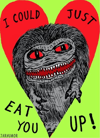 Horror Valentine S Day Cards