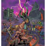 Battle for Eternia by Adam Moore - Masters of the Universe Art