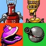 MST3K Pixel Art Portraits