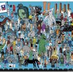 Where's Servo? MST3K Print by Steve Seck