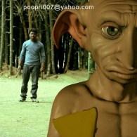 Indian Harry Potter battles Dobby