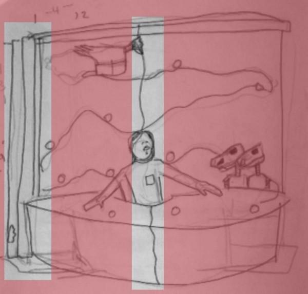 Joel Hodgson MST3K Sketch Details - Mystery Science Theater 3000