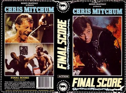 Final Score VHS Cover - Arizal