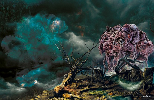 """Artwork inspired by H.P. Lovecraft's """"The Dunwich Horror"""" by Matteo Bocci"""