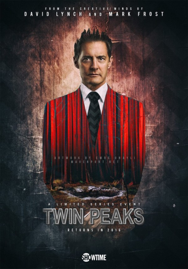 Twin Peaks on Showtime in 2017 - Kyle MacLachlan as Special Agent Dale Cooper