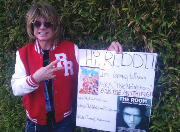 Tommy Wiseau, creator of THE ROOM and the new TV show THE NEIGHBORS, available now on Hulu. AMA!