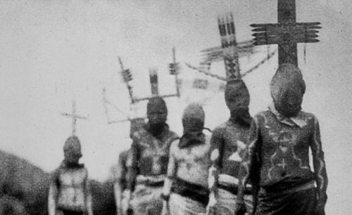 Creepy Apache Spirit Dancers