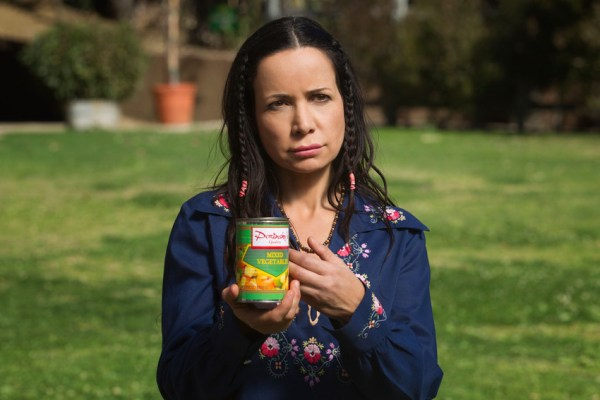 Janeane Garofalo as Beth. H. Jon Benjamin voices the can of vegetables. - Wet Hot American Summer First Day of Camp