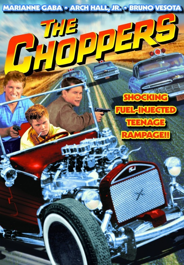 The Choppers Poster - Arch Hall Jr