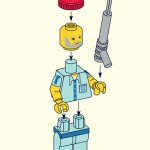 LEGO Steve Zissou from Wes Anderson's The Life Aquatic with Steve Zissou