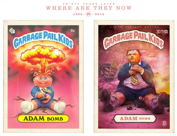 Adam Bomb - Where Are They Now - Garbage Pail Kids