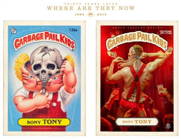 Bony Tony - Where Are They Now - Garbage Pal Kids