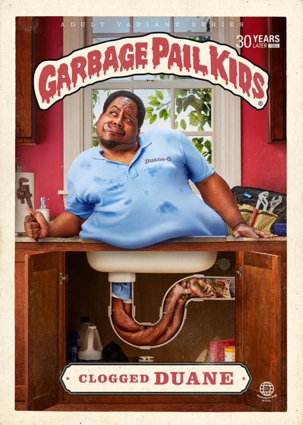 Clogged Duane - Garbage Pail Kids Adult Variant Series