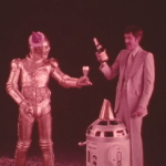 Metal Man and Shorty - C-3PO and R2-D2 knockoffs in a 1978 wine infomercial