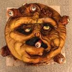 Big Trouble in Little China Cake - Beholder Floating Eyeball Monster Guardian Creature