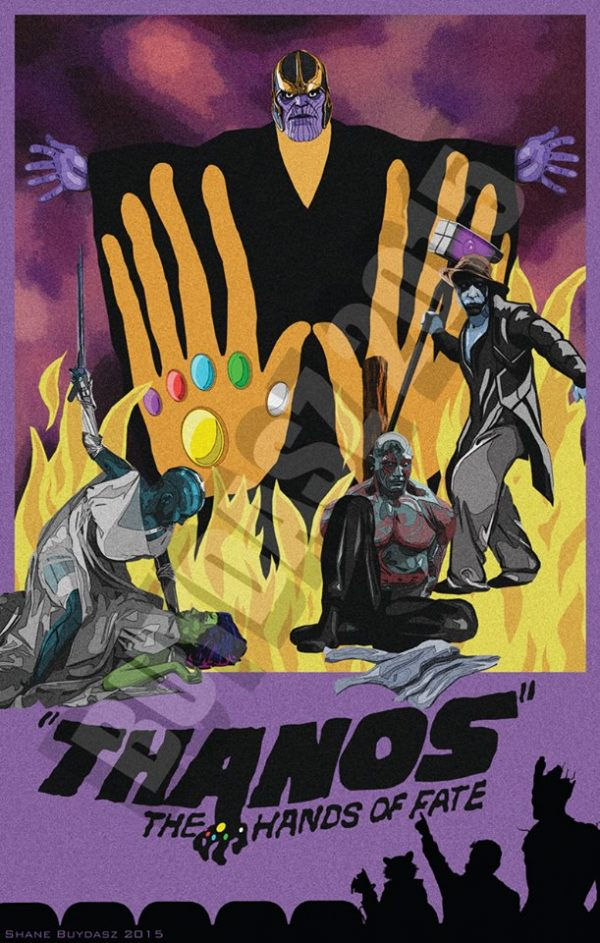 Thanos The Hands of Fate MST3K Art by Shane and Devon