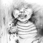 1 - Noodles - Nightmare Soup inspired by Scary Stories to Tell in the Dark's Stephen Gammell