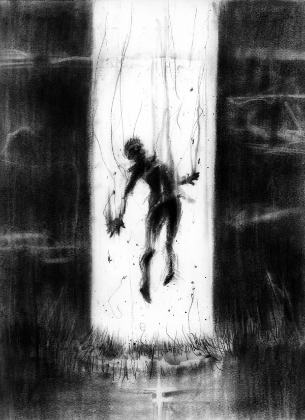 6 - Strange Lights - Nightmare Soup inspired by Scary Stories to Tell in the Dark's Stephen Gammell