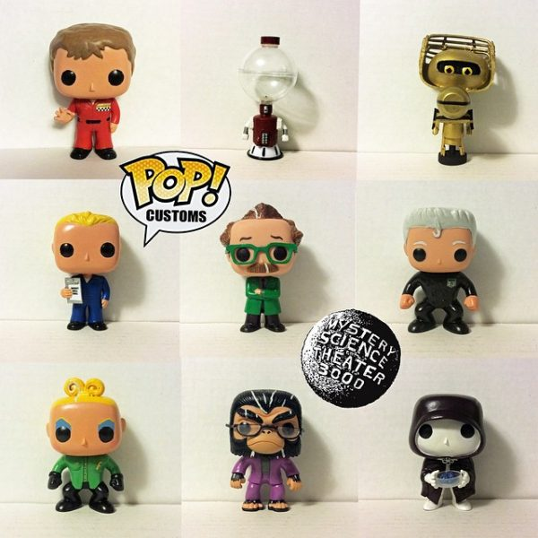 MST3K Funko Pop Vinyl Figures - Mystery Science Theater 3000