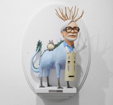 Hayao Miyazaki by Mike Leavitt