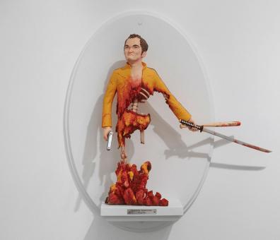 Quentin Tarantino Kill Bill figure by Mike Leavitt