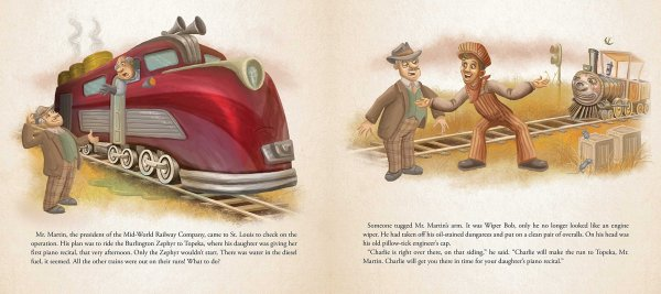 Charlie the Choo-Choo Dark Tower Children's Book by Stephen King (7)