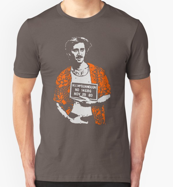 Nicolas Cage Raising Arizona H.I. Shirt