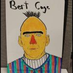 Bert Cage - Nicolas Cage as Bert from Sesame Street