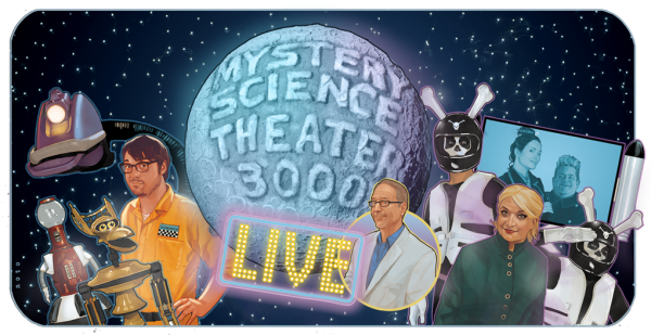 Mystery Science Theater 300 Watch Out for Snakes! Live Tour 2017 - MST3K Reboot on Netflix