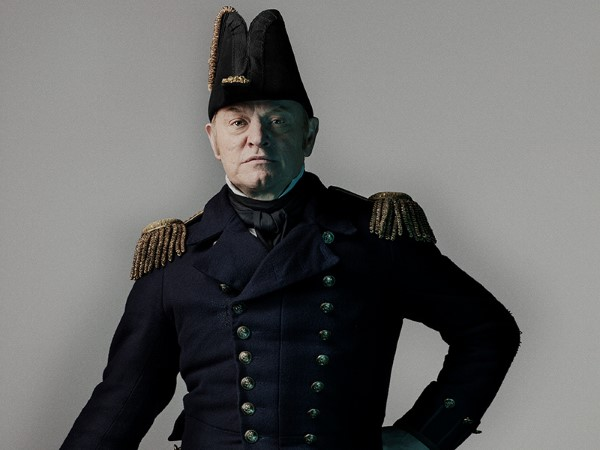 The Terror Jared Harris Captain Francis Cozier